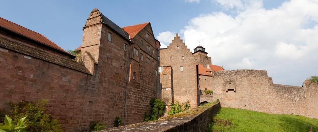 Burg Breuberg, Außenmauer