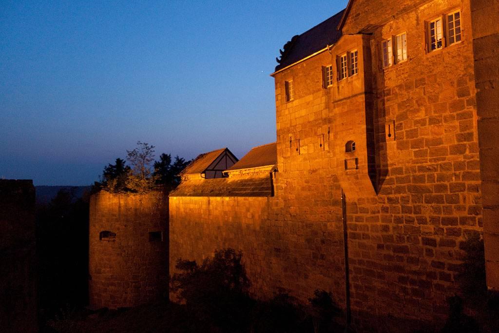 Burg Breuberg, innerer Schutzwall