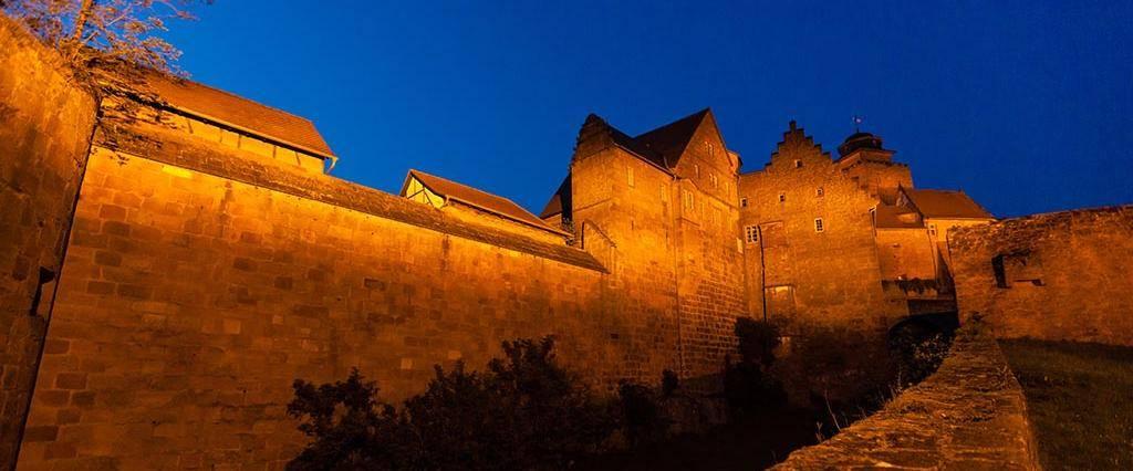 Burg Breuberg, äußerer Mauerring