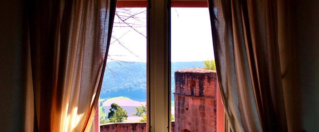 Blick aus Breubergs Fenster