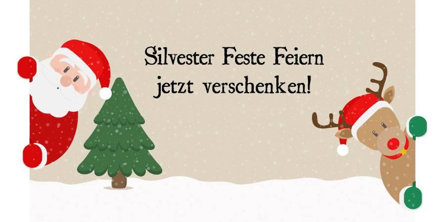 Silvester Feste Feiern jetzt verschenken!