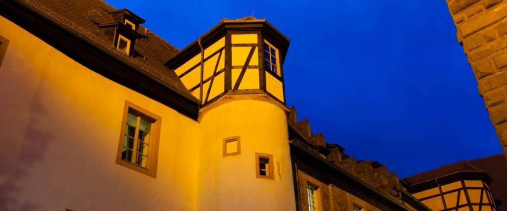 Burgbreuberg bei Nacht