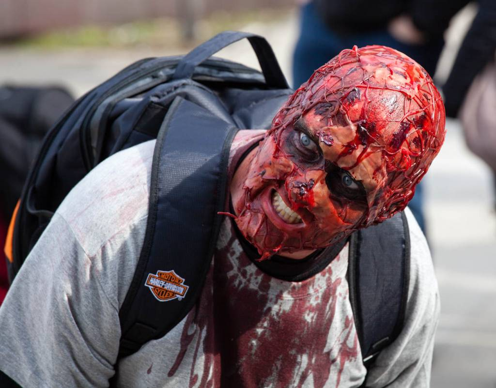 Zum Zombie werden..