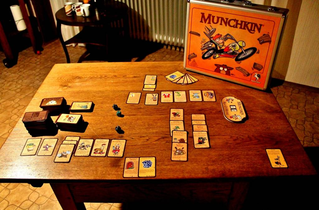 Munchkin-Spielerunde