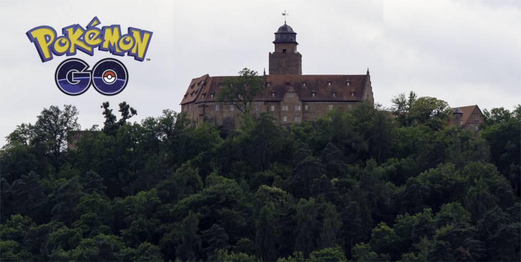 Pokemon Go auf Burg Breuberg
