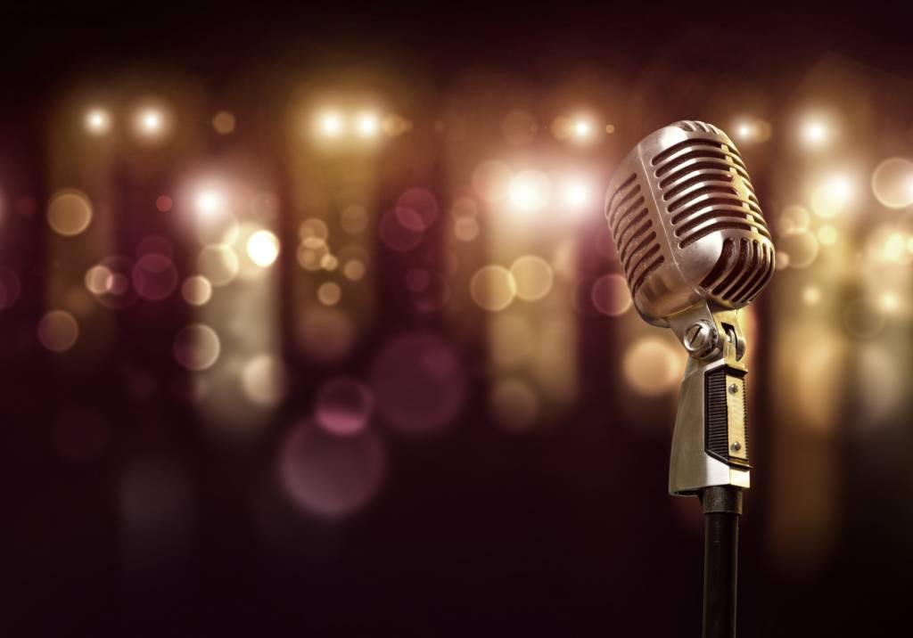50er Jahre Mikrophon