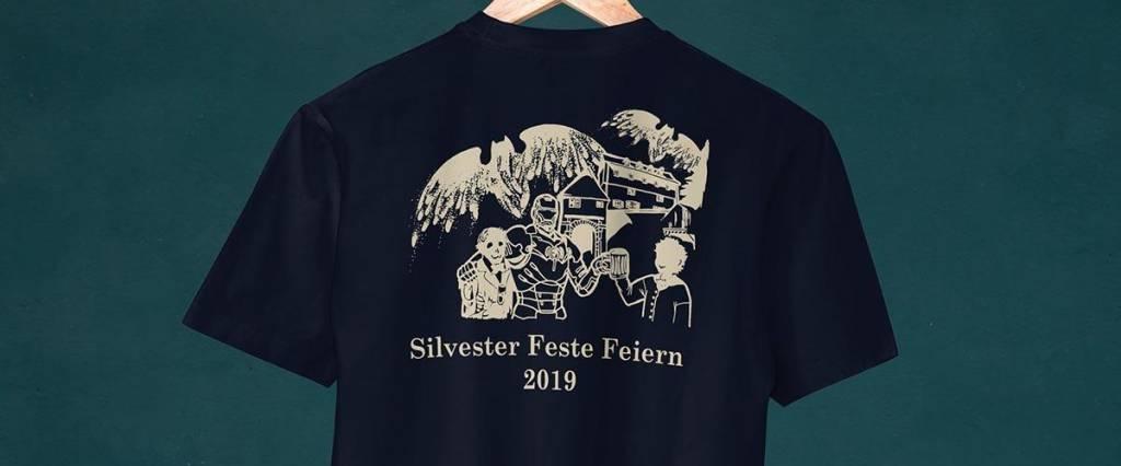 Silvester-Shirt 2019